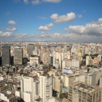 Vue de São Paulo : une mégapole brésilienne