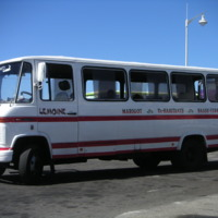 Guadeloupe. Transport collectif