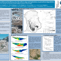 Evolution of cryo-conditioned landforms since the Little Ice Age and implications on permafrost degradation: a case study from the Lac Rouge rock glacier (Clarée Valley, Southern French Alps)