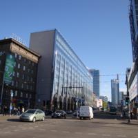 Le quartier financier de Tallinn (Estonie)