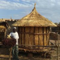 Grenier de sorgho (Burkina Faso)