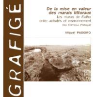 De la mise en valeur des marais littoraux. Les marais de Fialho entre activités et environnement (Ria Formosa, Portugal)