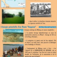 L'eau politique. MEKONG, fleuve en partage, fleuve qui partage