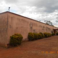 Les murs de la prison principale de Mfou (Cameroun)