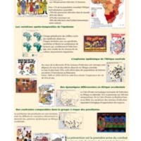 L'infection à VIH-SIDA en Afrique sub-saharienne. Un immense fléau mais une géographie fragmentée