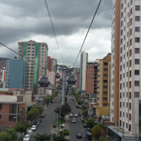 Survoler la ville (Bolivie)