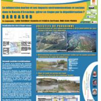 La submersion marine et ses impacts environnementaux et sociaux dans le Bassin d'Arcachon : gérer ce risque par la dépoldérisation. BARCASUB