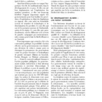 Le développement durable : une notion contestée
