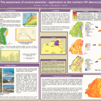 The assessment of erosive potential : Application to the northern Rif (Morocco)