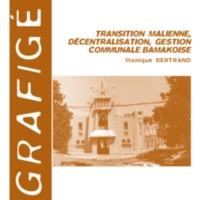 Transition malienne, décentralisation, gestion communale bamakoise