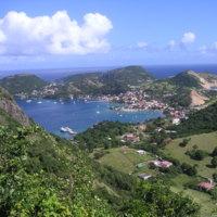 Guadeloupe. Basse Terre. Baie des Saintes