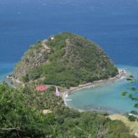 Guadeloupe. Basse Terre. Pain de Sucre des Saintes