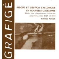 Risque et gestion cyclonique en Nouvelle-Calédonie : étude des phénomènes tropicaux observés entre 1947 et 1999