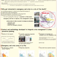 Preventive urban planning tools of emergency and crisis management en La Paz (Bolivia)
