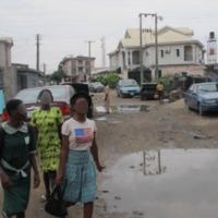 Riches et pauvres à Lagos (Nigéria)