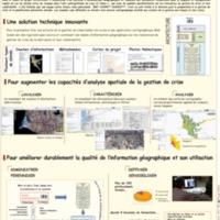 Serveur cartographique pour la gestion de crise en cas de séisme majeur à Lima-Callao, Pérou