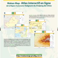 Makan Map - Atlas interactif en ligne de la Région Autonome Ouïgoure du Xinjiang de Chine
