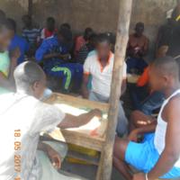 Les jeux à la prison de Mfou (Cameroun)